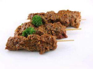 Beef Peanut Satays