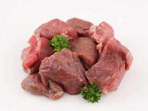 Diced Lamb
