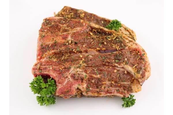 Rosemary Mint BBQ Lamb Chops