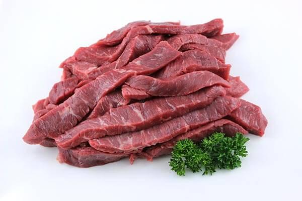 Stir Fry Beef Strips